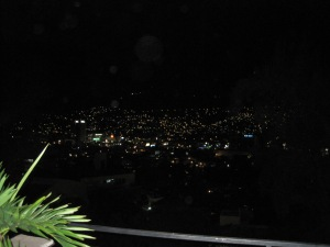 tegucigalpa at night